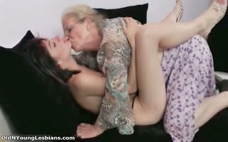 old and juvenile lesbian babes receive lustful