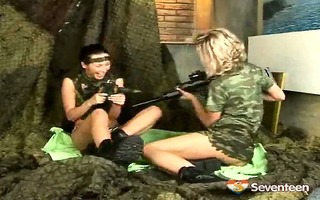 lesbo teenies in uniform