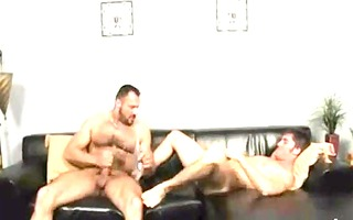 daddy masseur gives fun to his youthful customer