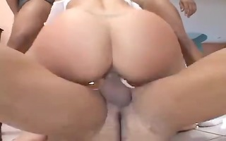 chunky blond swallows loads from bbcs