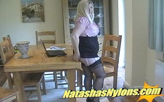 english d like to fuck nylons footjob and cum