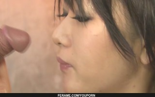 slutty honey snatch caressed and screwed hard in