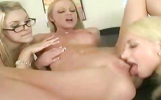 blondie office cuties lesbo sex