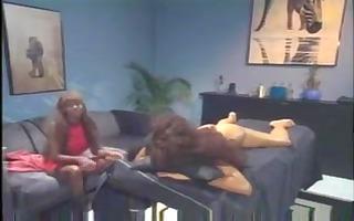 sexy massage turns to lesbian