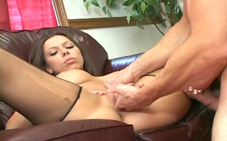 foursome with a hose ripping footjob fetish