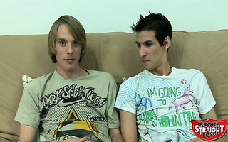 cousin mikey and corey revisit the futon and