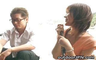 arisa kanno sexy oriental hottie receives hawt