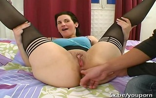 marie analfucked in nylons