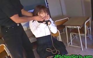 cute oriental schoolgirl fucked hard part0