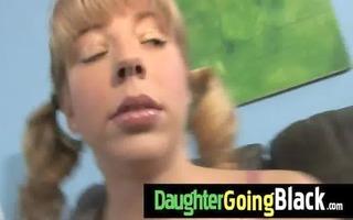 hawt daughter pecker engulf and interracial fuck 6