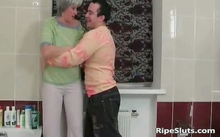 older floozy sucks on hard cock and receives part6