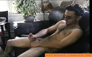 homosexual straight non-professional jerking off
