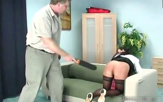 bow over and submit intensive slapping part8