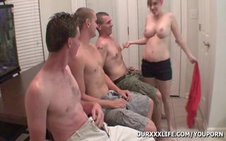 my wife acquires group-fucked