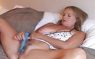older hottie enjoys a smoke and a jerk off
