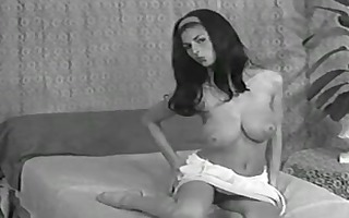lady shows all 04 (dark and white vintage)
