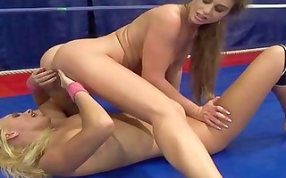 cathy heaven fighting with hot blond