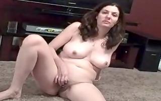 breasty neighbor masturbates