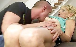 hawt grandma fucking with her juvenile paramour