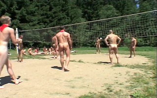 undressed volleyball is sexy
