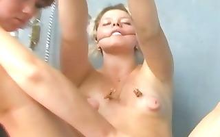 erotic lesbo thraldom and lezdom sexy wax fetish