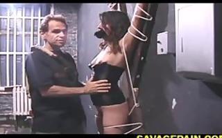 painful slit torture for talia