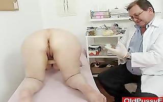 woolly gramma enema during a medical scrutiny