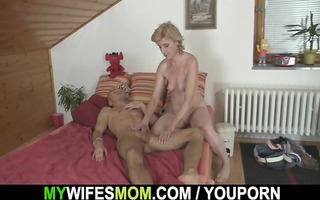 she is helps her son-in-law cum and acquires