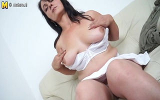 sexy mother masturbating when this chick is all