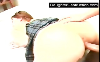 dad came in my snatch after fucking me hard