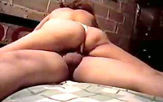 fat aged d like to fuck rides jock on ottoman