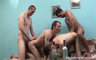 naughty group of four gay