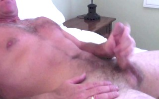 wanking and cumming for the wife