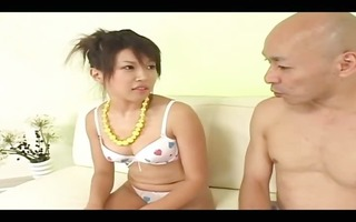 water in her taut japanese anal