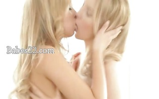 sexy lesbos sharing one vibrator