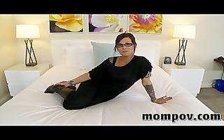 dark brown blow job instructor taking jock in porn