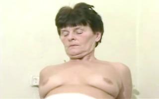 older granny landlady wakes her youthful lodger