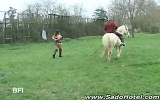 outcdoor ponyplay