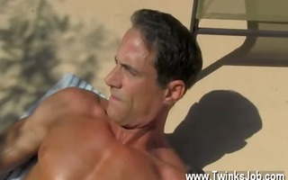 homosexual xxx with the fellows sex cream leaking