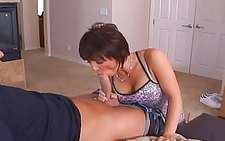 angelic brunette hair mother i with giant tits