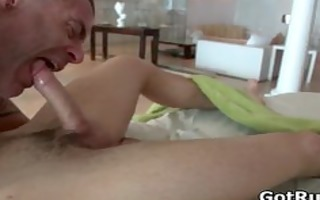 hunky boy acquires oiled up and homo massaged