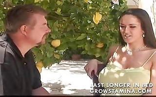 large tit milf craves threesome cum