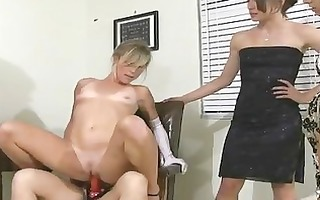 sorority lesbian babes oral-sex and dong fuck
