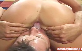 breasty broad tittyfucked