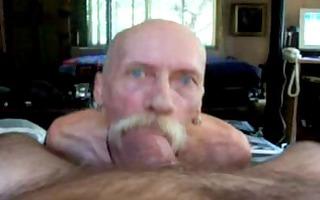 grandpapa engulf large jock