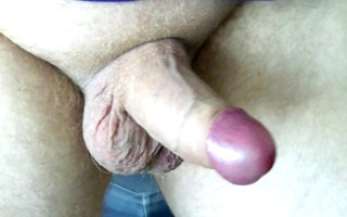 uncut cock, foreskin play and cumming throughout