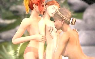 manga 5d lesbo sex