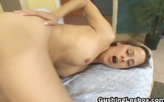 lesbo wench receives her slit drilled part6