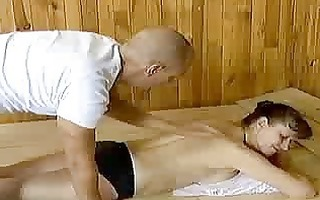 eager old mama receives hard drilled