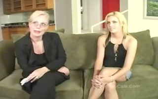 mamma pimps her daughter golden-haired oral